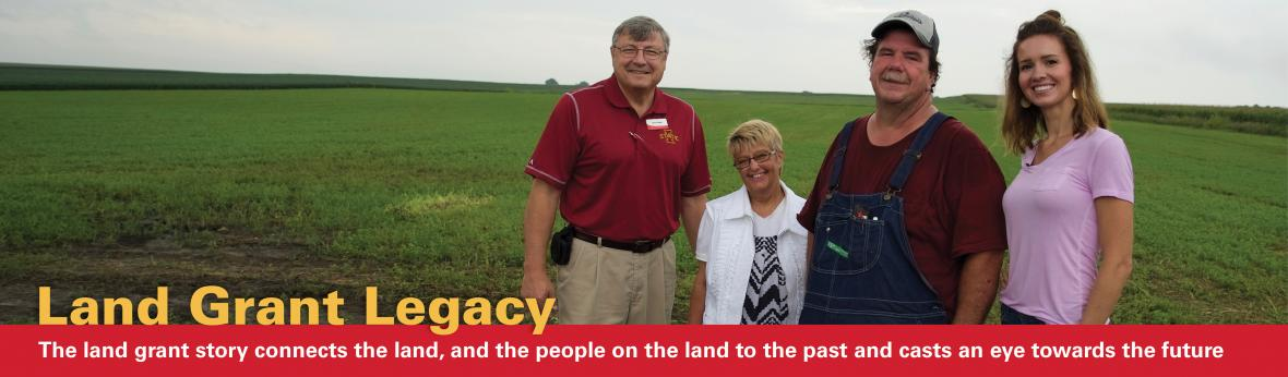 Land Grant Story connects the land